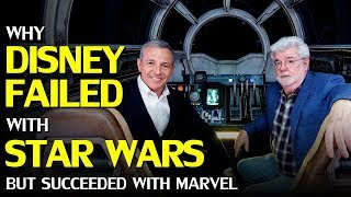 Why Disney failed with Star Wars, but succeeded with Marvel and Pixar