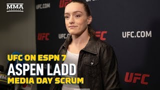 Aspen Ladd Didn't Get Too 'Head Casey' Over First Loss - MMA Fighting