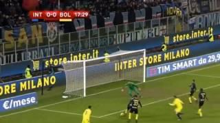 интер - Болонья 3-2 обзор матча Кубок Италии 17.01.2017 HD