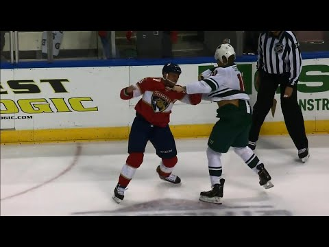 Wild's Stewart and Panthers' Haley trade haymakers