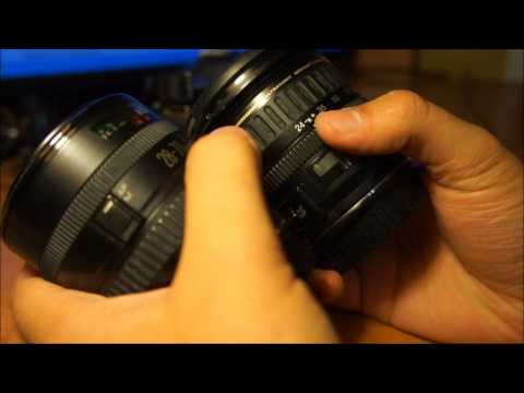 Canon EF 24-85 3,5-4,5 USM + Canon EOS 550D