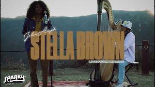 "Jelani Aryeh ""Stella Brown"" (Live Harp Performance) | Sunset Sessions"