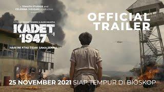 OFFICIAL TRAILER FILM KADET 1947 | 25 NOVEMBER 2021