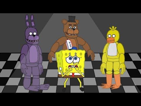 SpongeBob FIVE NIGHTS AT FREDDYS PART 2