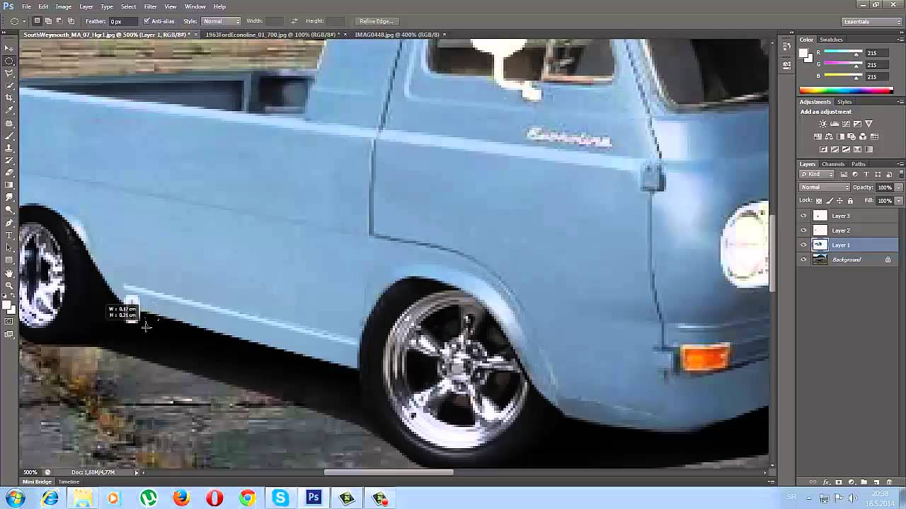 Ford Econoline 1963 Virtual Tuning - YouTube