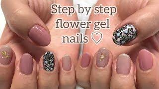 ジェルネイルのやり方♪【How to gel nails tutorial-step by step💅】