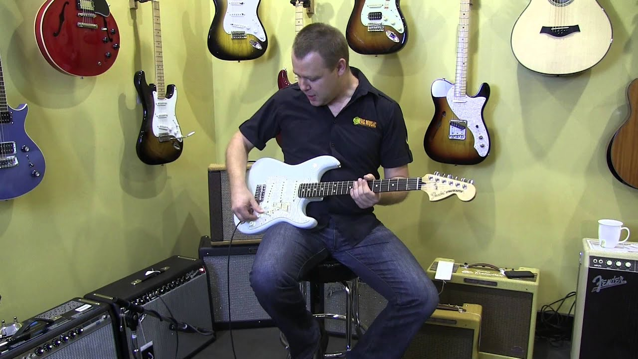fender deluxe roadhouse stratocaster review and demo youtube. Black Bedroom Furniture Sets. Home Design Ideas
