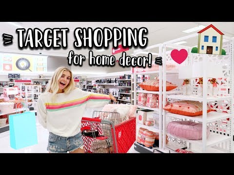 HOME DECOR SHOPPING AT TARGET!!