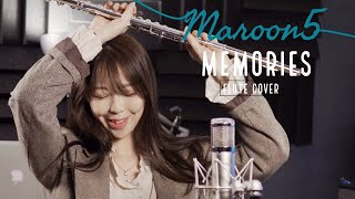 Maroon 5 - Memories (Flute ver + Canon D🎶) by Jenny Lee