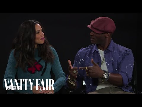 Jurnee Smollett and Aldis Hodge Stage a Mini–Friday Night Lights Reunion at Sundance