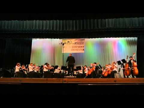Neshaminy Orchestra at Pennsbury HS Competition