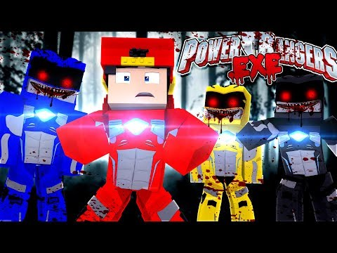 Minecraft - ROPO DEFENDS THE LITTLE CLUB H.Q FROM THE POWER RANGERS .EXE