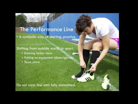 Chad Doerr on High Performance Routines: McMillin Center for Sport Psychology at JMU