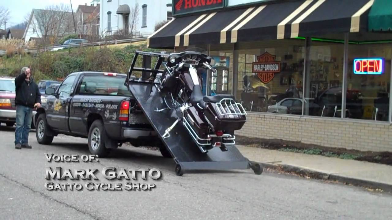 Amerideck Gatto Cycles Motorcycle Hauling Transport