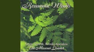 Lyric Pieces, Book 3, Op. 43: No. 4. Little bird (arr. for wind quintet)
