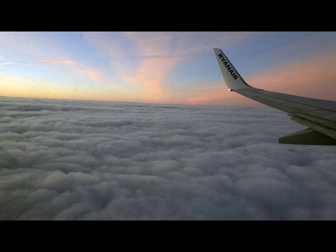 ✈ Northern Ireland City of Derry Airport LDY Londonderry | Boeing 737-800 | Ryanair FR611 | Landing
