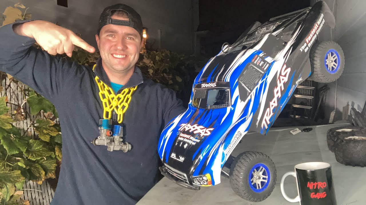 Download Friday NitroGang Live - Traxxas Slayer Pro testing - Buy a Kyosho USA-1 Right now or Used Nitro?