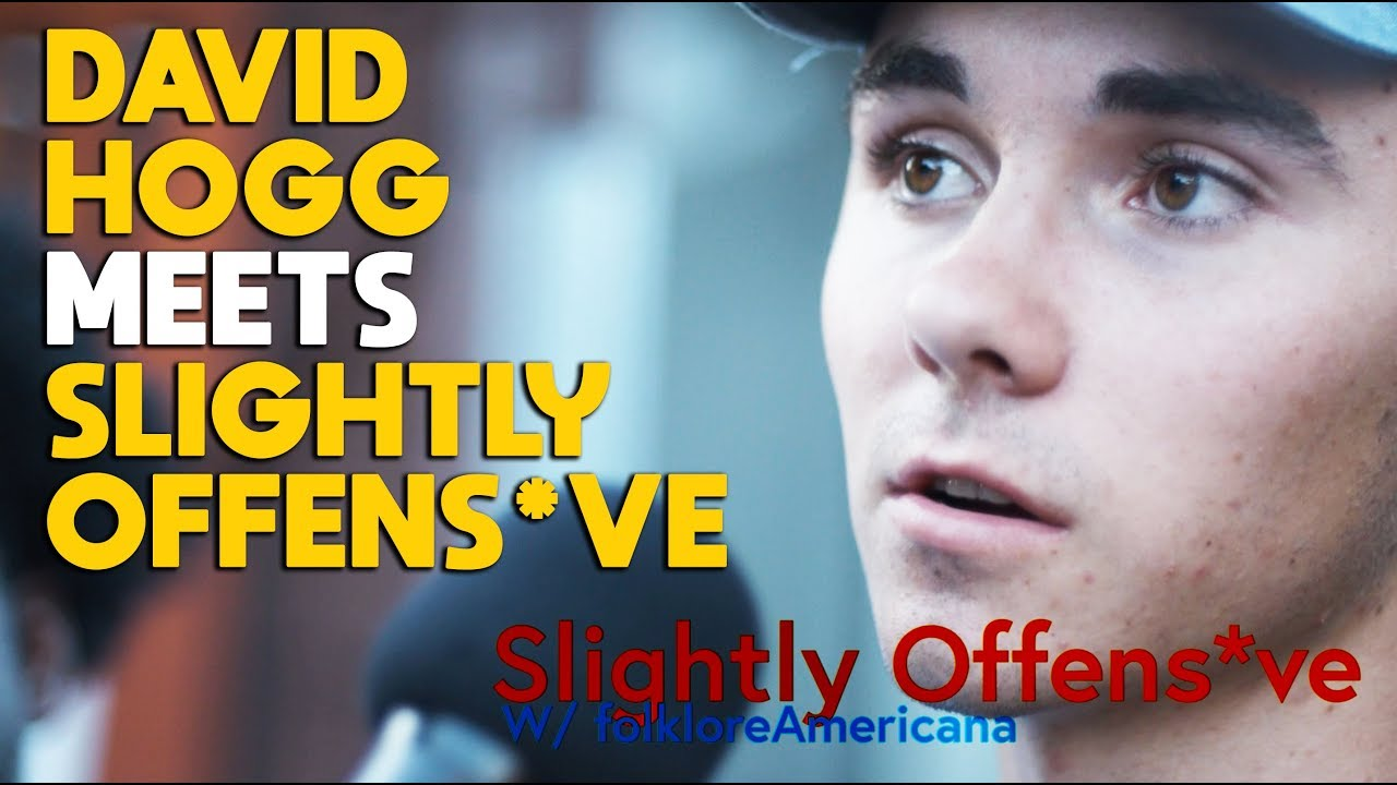 DAVID HOGG meets SLIGHTLY OFFENS*VE | ** Exclusive Interview **