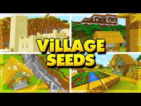 20 New Village Seeds For Minecraft 1 16 Best Minecraft 1 16 Village Seeds Youtube