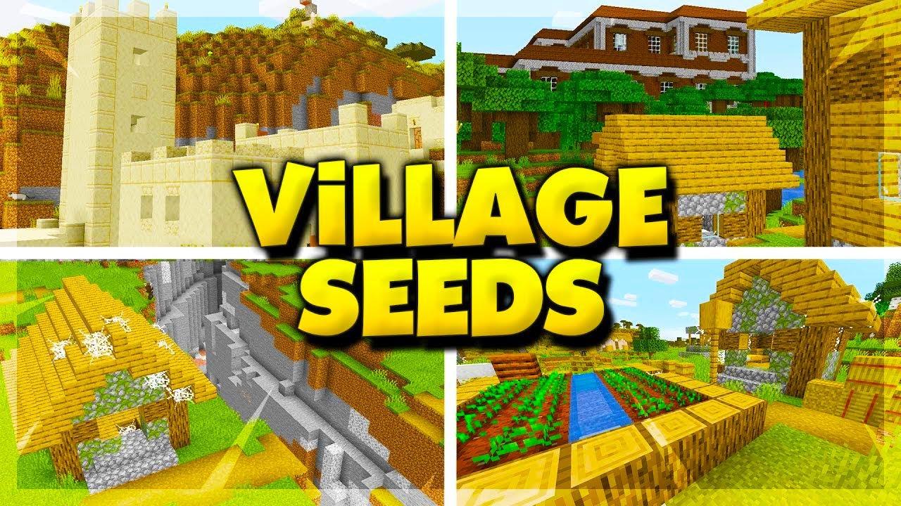 1222 NEW Village Seeds For Minecraft 122.1226! (Best Minecraft 122.1226 Village Seeds)