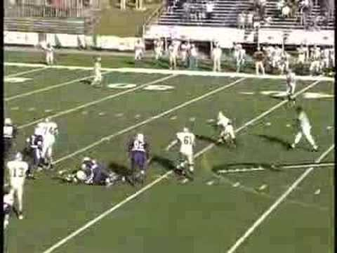 Miracle in Mississippi - Trinity 28, Millsaps 24 10-27-2007