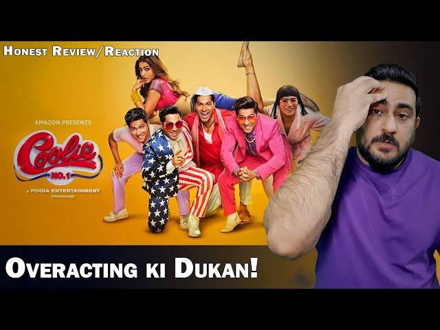 Coolie No. 1 - Official Trailer | Varun Dhawan | Reaction | Review | IAmFawad