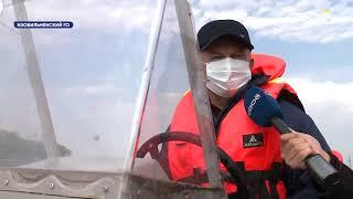 В водохранилище в Изобильном прошли профилактические рейды со спасателями