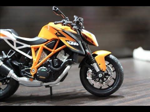 Diecast Unboxing 2017 Ktm Duke 1 18 Ktm Super Bike Motorcycle Model