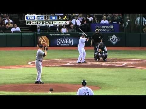 2010/04/09 Vazquez's five strikeouts