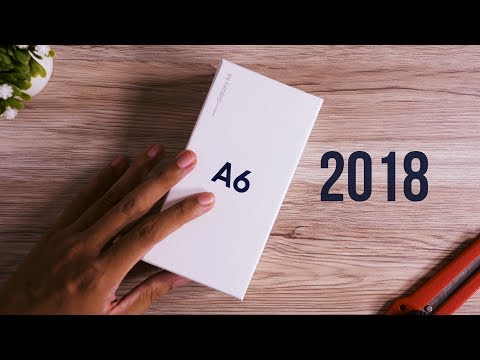 Unboxing Samsung Galaxy A6 2018 Indonesia!