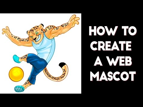 How to create a web mascot