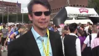 Lille Vinkel Sko meets Rockport –Oslo Maraton