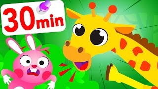 Where Are My Friends? Hide & Seek With Sophie The Giraffe Bunny Games and Play by Little Angel