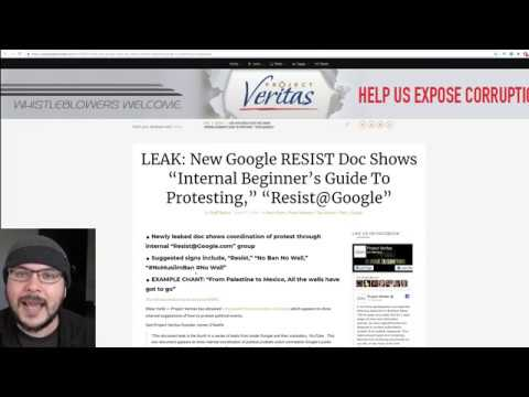 Veritas Document Shows Google Encouraging Far Left Protest As 'Example'