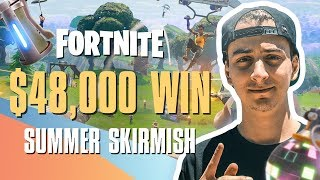 WINNING A FORTNITE GAME FOR $48,000