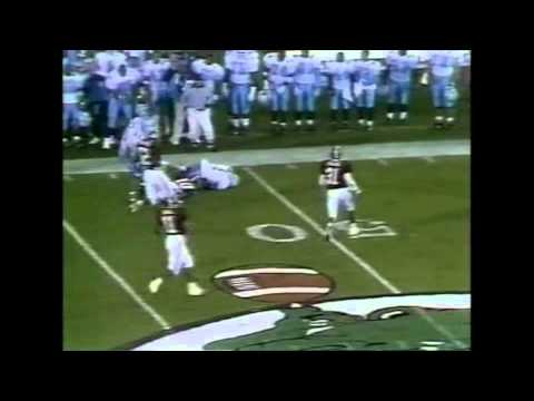 1993 Gator Bowl - #11 North Carolina vs. #18 Alabama Highlights