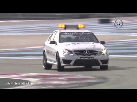 MercedesBenz TV: C 63 AMG as safety car for DTM 2011.
