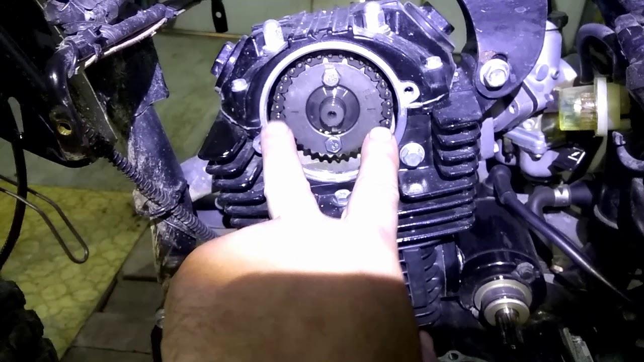 Мото 250 замена ГРМ регулировка клапанов