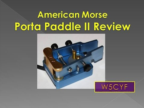 American Morse Equipment Porta Paddle-II
