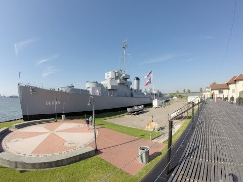SeaWolf Park, Galveston, TX.  USS Cavalla, and Stewart