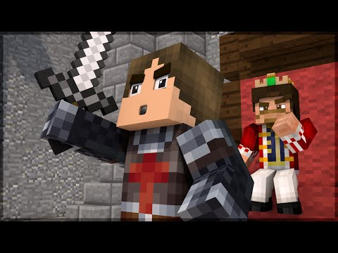 Minecraft: DEFENDAM O REI!!! (CASTLE SIEGE)