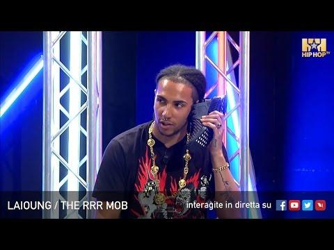 LAIOUNG THE RRR MOB LIVE SU HIP HOP TV 💣🦁👊🏻 UNBOXING ADIDAS ORIGINALS NMD