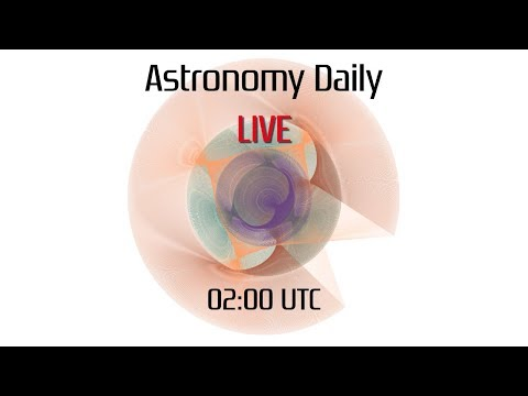 Astronomy Daily *Live* 180309 | Stacking Images, NGC 5061, astronomy news