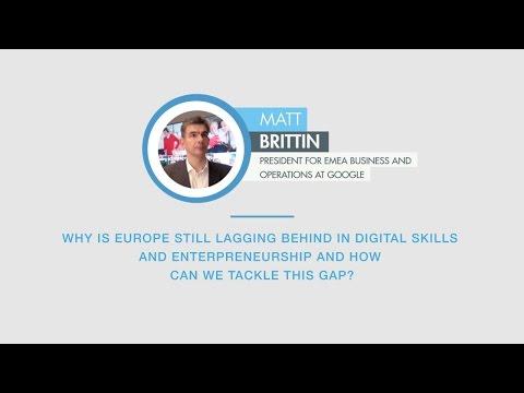 Matt Brittin comments on digital skills gap