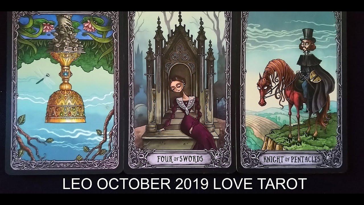leo monthly tarot october 2019
