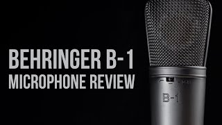 Behringer B-1 Condenser Microphone Review / Test