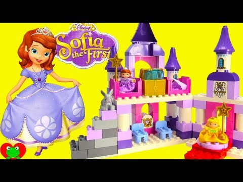 Thumbnail: Disney Princess Sofia The First Royal Castle Lego Duplo Build with Magical Surprises