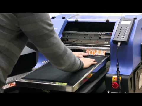 Текстильный принтер Vivid Tex Pro - прямая печать на темных и цветных тканях (на футболках)