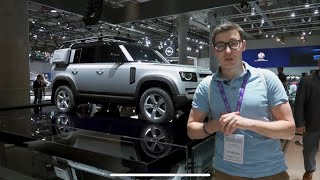 ПРОЩАЙ, РАМА! НОВЫЙ ДЕФЕНДЕР. Первый взгляд на Land Rover Defender 2020