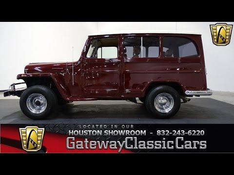 751 HOU 1962 Willys Jeep Gateway Classic Cars Houston